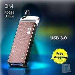 Честная USB 3.0 флешка DM PD021 16Gb