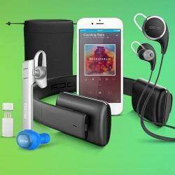 Большие скидки на Bluetooth наушники и гарнитуры 13 сентября в официальном магазине QCY