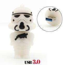 USB 3.0 флешка в виде имперского штурмовика из киносаги «Звездные Войны»