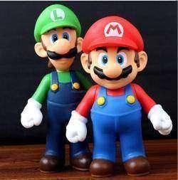 Обзор игрушки из приставки - непревзойденные братья Марио статуэтка игрушка