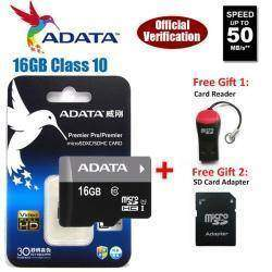 Карта (ADATA) 16GB Class 10