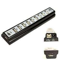10-портовый USB 2.0 концентратор