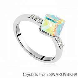 Обзор кольца с 'кристаллами  Сваровски' купленного в Китае в сравнении с оригинальным набором (Swarovski Elements)