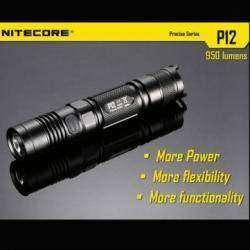 Неплохой тактический фонарик Nitecore P12