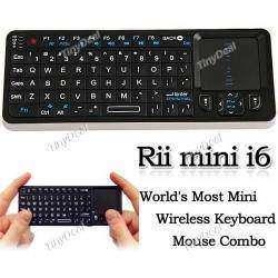 Беспроводная клавиатура Rii Mini I6