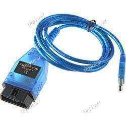 VAG-COM KKL 409.1 OBD2 OBDII Car Diagnostic Cable