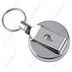 Что ЭТО у мужчины НИЖЕ ПОЯСА ВИСИТ? или Multi-Functional Metal Retractable Badge Reel Buckle Fastener with Key Ring & Back Clip