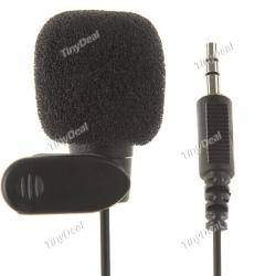 3.5mm Miniature Hands-Free Clip-on Microphone