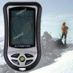 Handheld LCD Display Altimeter + Barometer + Thermometer