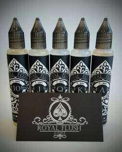 Жидкости для электронных сигарет «ROYAL FLUSH»