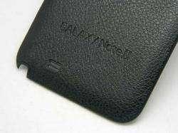 Задняя крышка 'под кожу'+NFC для Samsung Galaxy Note 2 (N7100)