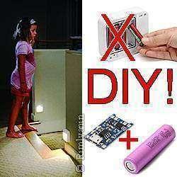 DIY: переделка LED светильника ARILUX™ AL101N на Li-Ion и зарядку от USB