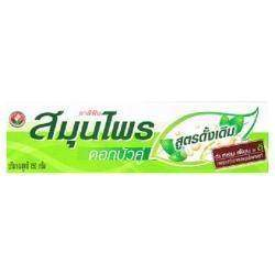 Натуральная зубная паста на травах из Тайланда 'Twin Lotus Original' Herbal Toothpaste Natural Herbs Clean Teeth Gums. Тюбик 150 грамм.