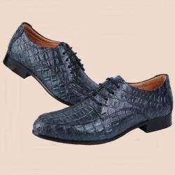 Мужские туфли-оксфорды из натуральной кожи под костюм для официальных случаев.