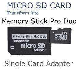Переходник для microSD в формфактор MS Pro Duo