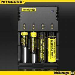 Универсальное зарядное устройство для аккумуляторов от Ni-Cd AAA до Li-On 18650 Intellicharge Sysmax I4