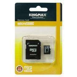 Карта памяти Kingmax MicroSD / SDHC 4GB Memory Card with MicroSD