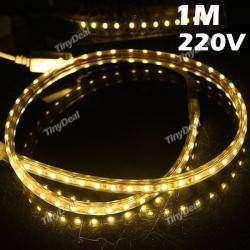 Метровая светодиодная лента 220v для локальной подсветки