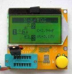 LCR-T3 LCD ESR SCR Meter Transistor Tester. Прибор начинающего радиолюбителя