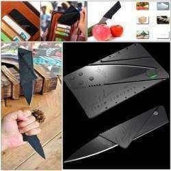 Складной нож-кредитка