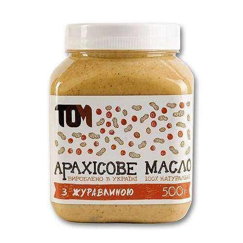 Арахисовое масло ТОМ
